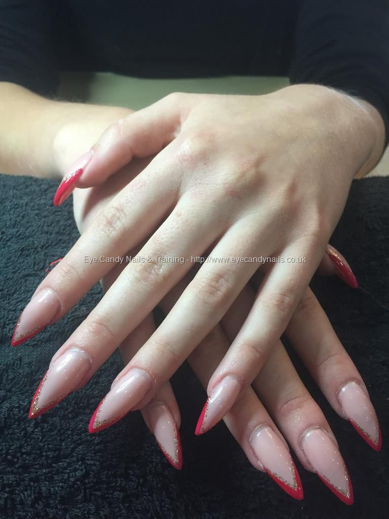 Old Fashioned Stiletto Nails 2015 Red Frieze - Nail Art Design Ideas ...