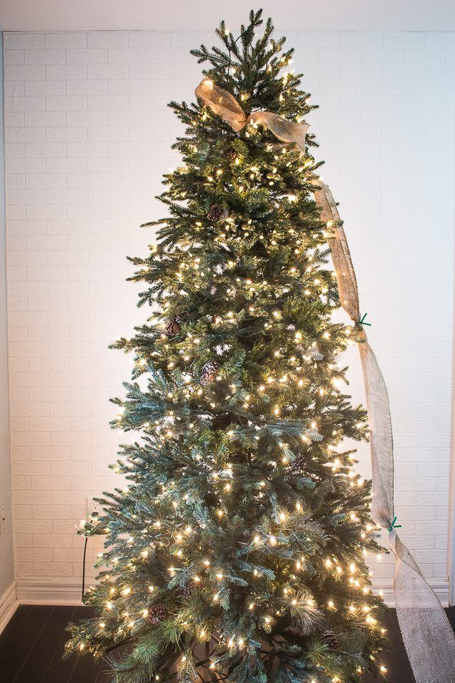 How to Put Ribbon Garland on a Christmas Tree | Hunker