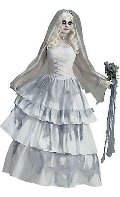 New Ghost Bride Full Female Halloween Costume