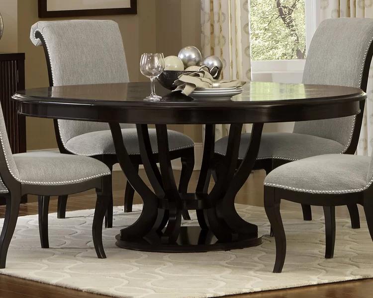 Canora Grey Baypoint Dining Table Wayfair Dining Table Kitchen Table Decor Round Kitchen Table