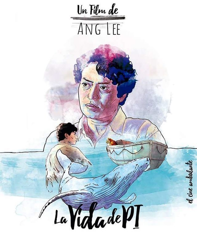 """Life of pi"" by Dr.Moreno #lifeofpi #anglee #cute #nice#artwork #draw #drawing #paint #painter#painting #illustration #illustrator #sketchbook #sketch #sketching#pencil #pencilart #pencildrawing#pencilsketch #絵 #イラスト #アーティスト #アート #お絵かき #油絵 #デジタル..."