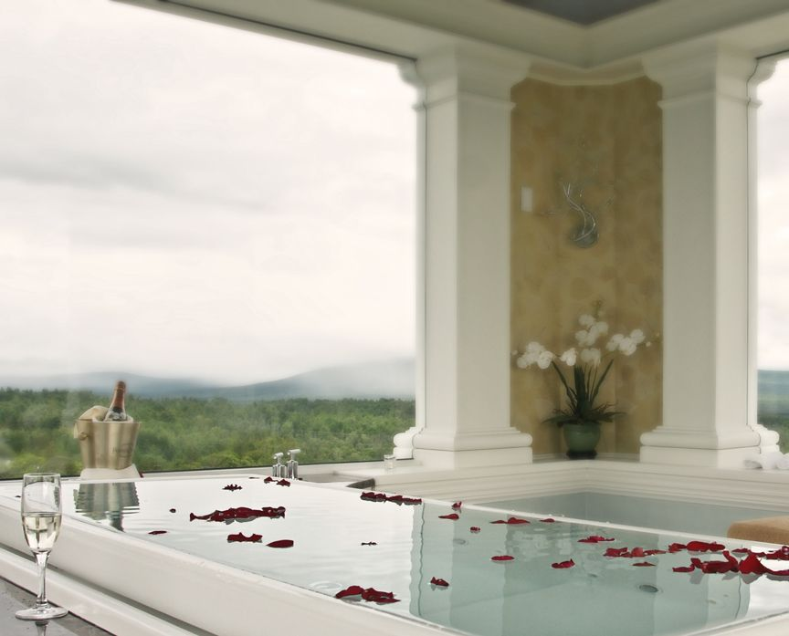 A glimpse of the Kohler sok tub | The Spa at Mountain View Grand ...