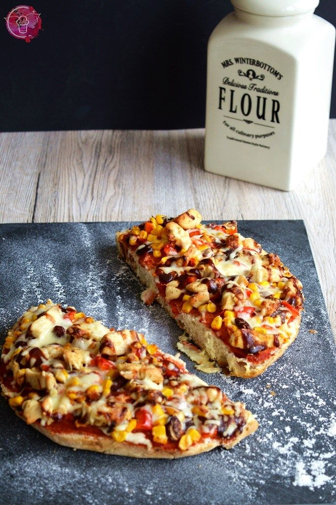 BBQ Chicken Fladenbrotpizza | SchokoladenFee