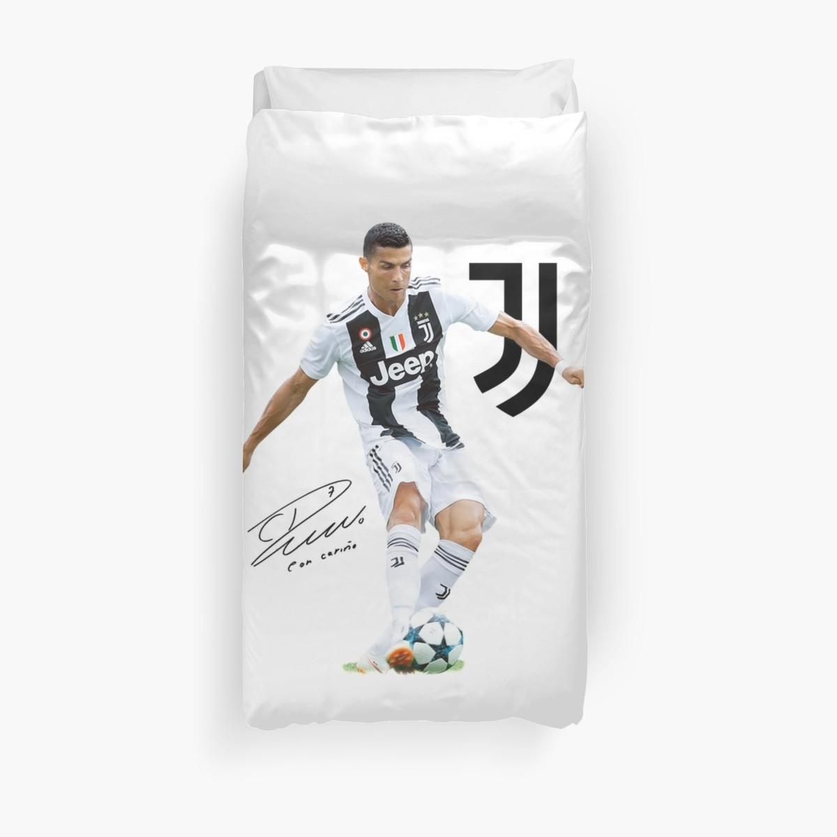 Ronaldo Juventus 2019 Cr7 Duvet Cover In 2019 Duvet