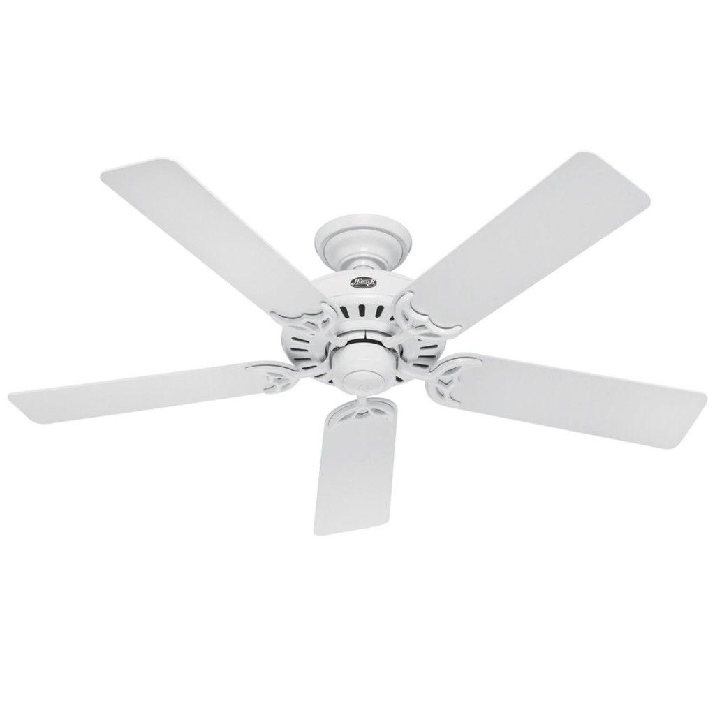 outdoor ceiling fans white. White Hugger Ceiling Fan No Light Outdoor Fans