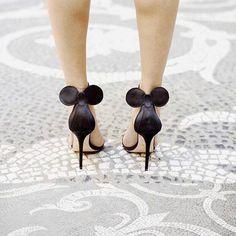 Disney heels. Mickey Mouse pumps