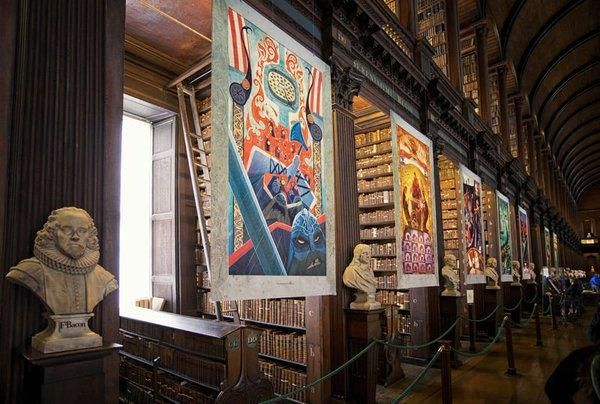 """Visit Dublin on Twitter: """"Be sure not to miss the beautiful Book of Kells, kept safe in the spectacular setting of #TrinityCollege! #LoveDublin https://t.co/Blpp0wRXlA"""""""