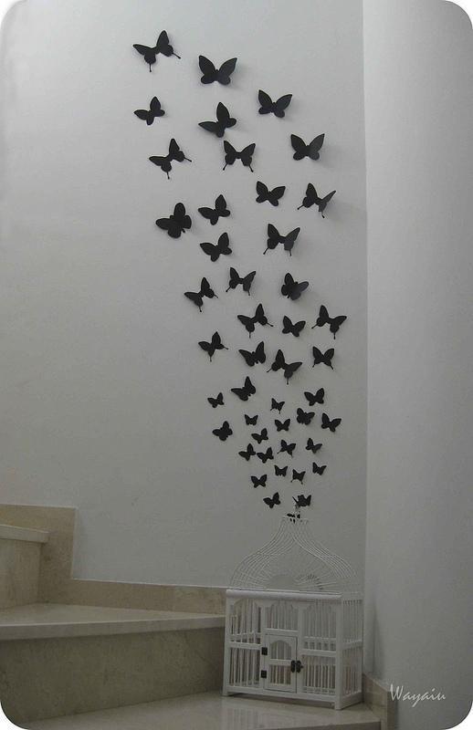 Mi pared favorita mariposas de papel de gemma mariposas - Mariposas para pared ...