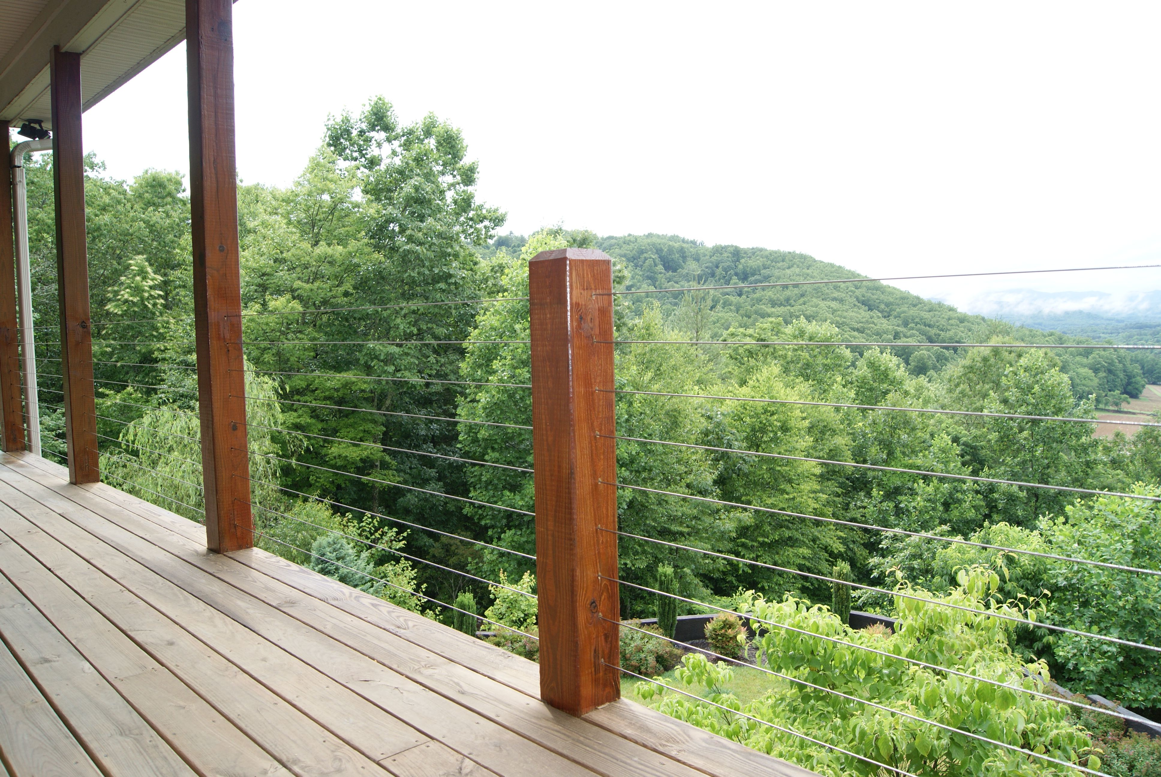 hendersonville nc deck cable railing systems kilpatrick. Black Bedroom Furniture Sets. Home Design Ideas