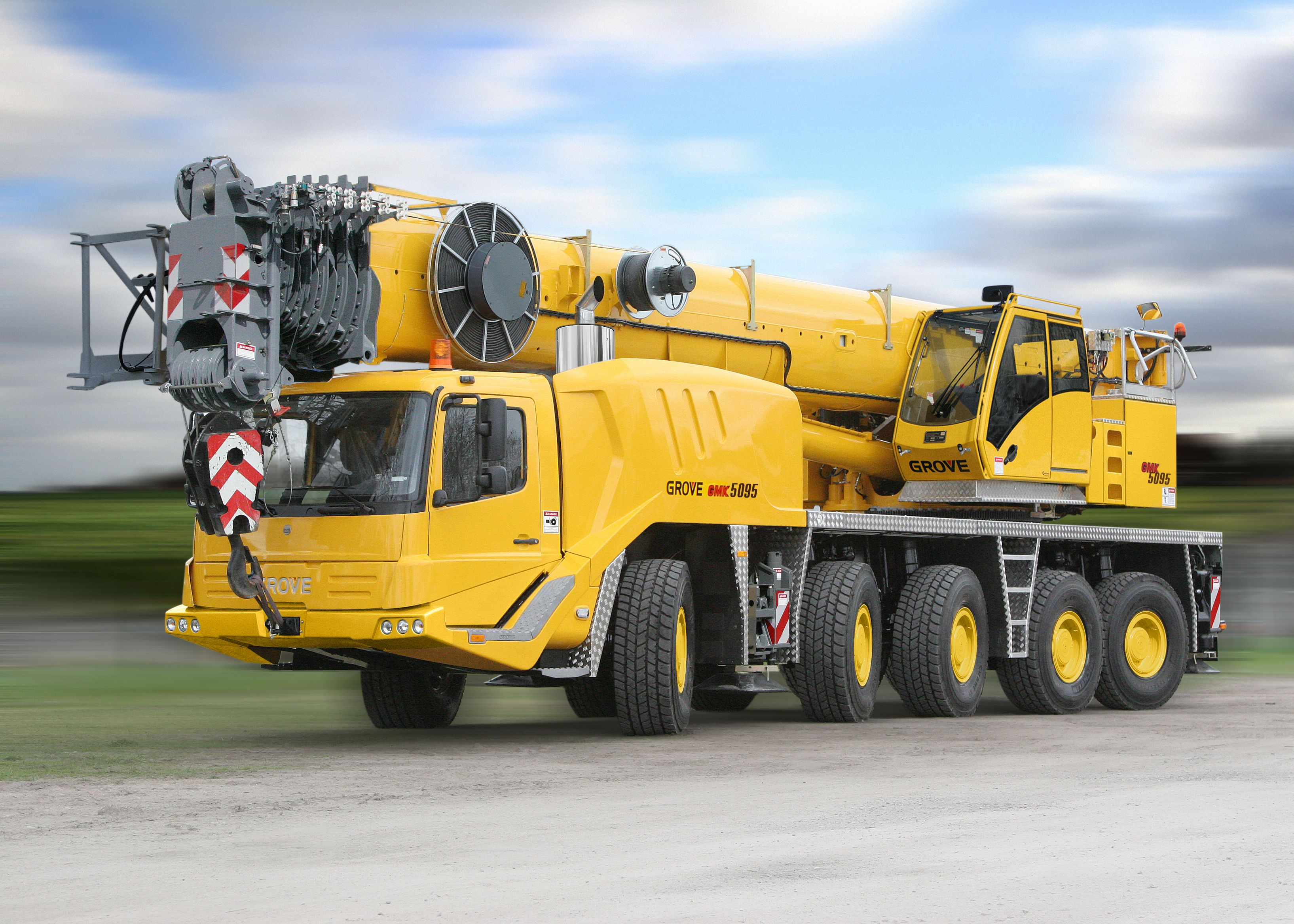Grove 5095 All Terrain Mobile Crane | Twin Steer | Crane