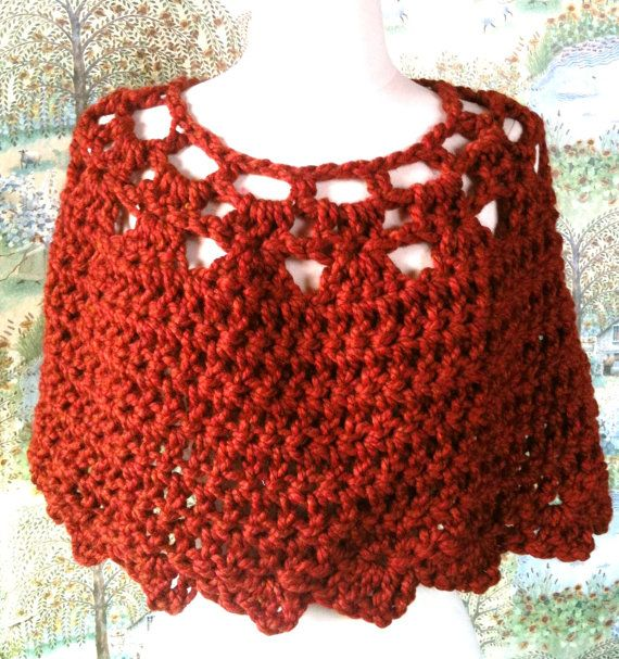Crochet Pattern Shawl Shrug The Honeycomb Stole Quick and Easy ...