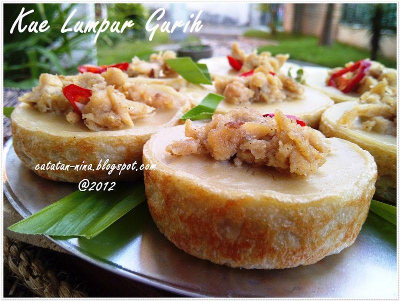 Kue Lumpur Gurih Catatan Nina Resep Masakan Ramadhan Makanan Dan Minuman Kue