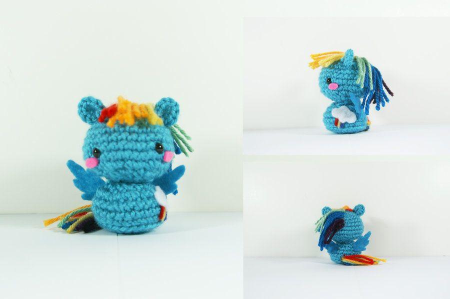 MLP: Rainbow Dash by milliemouse579 on DeviantArt | พวงกุญแจ | Pinterest