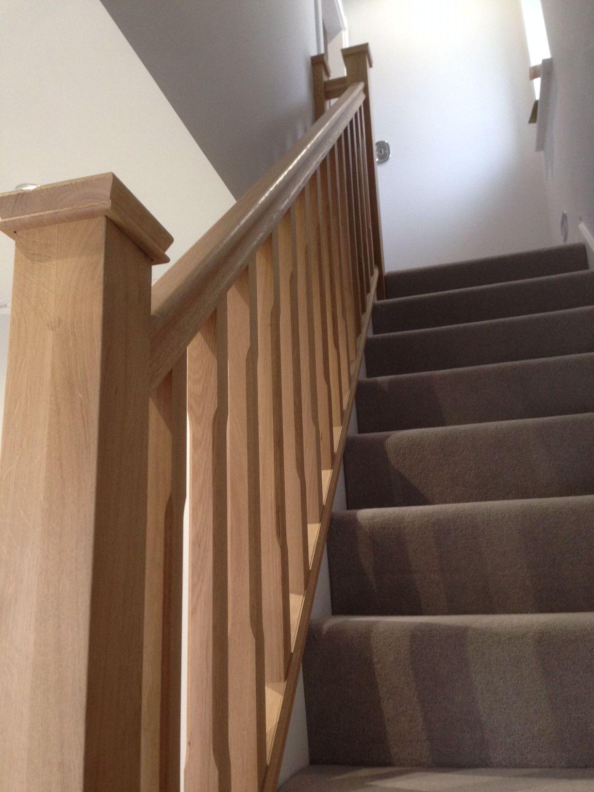 oak balustrade our most recent work pinterest oak stairs