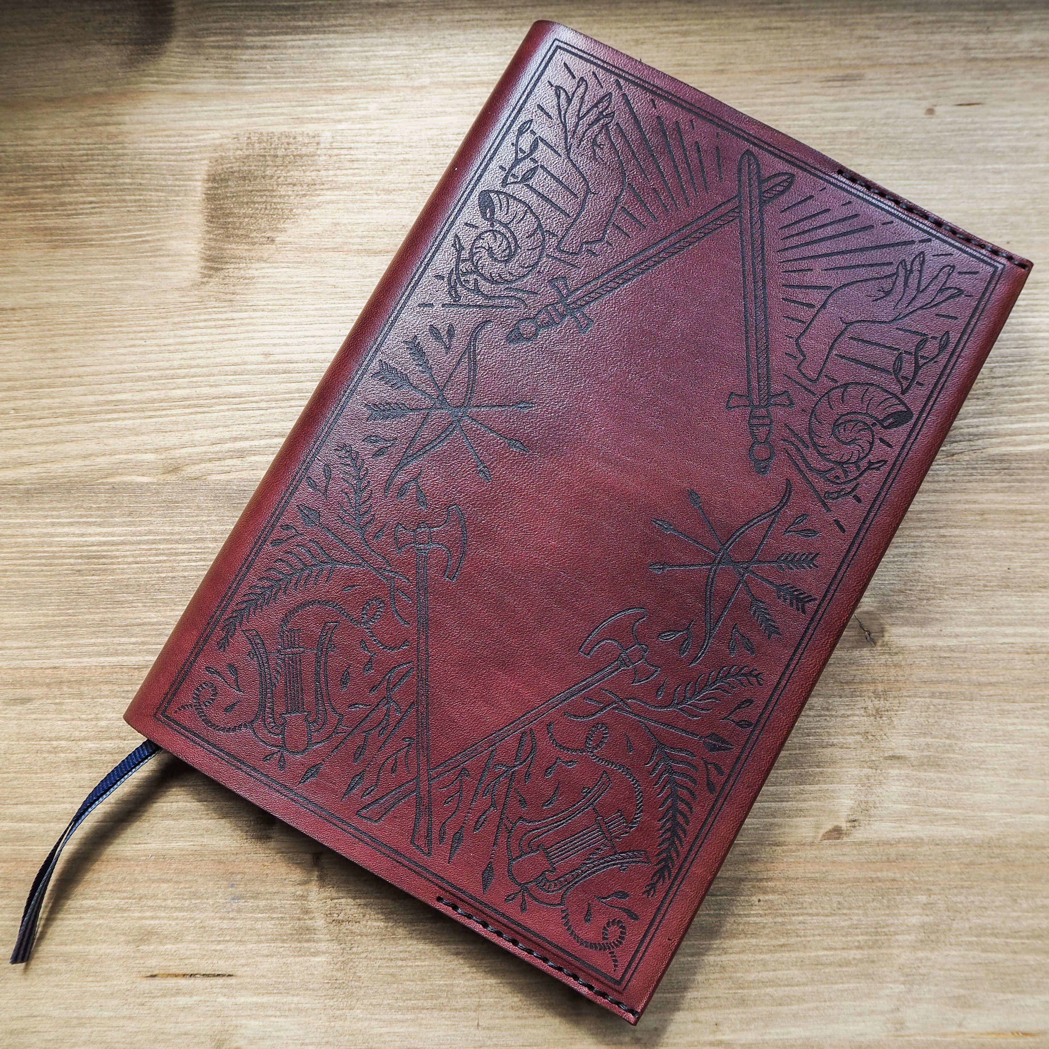 The Adventurers Notebook Cover