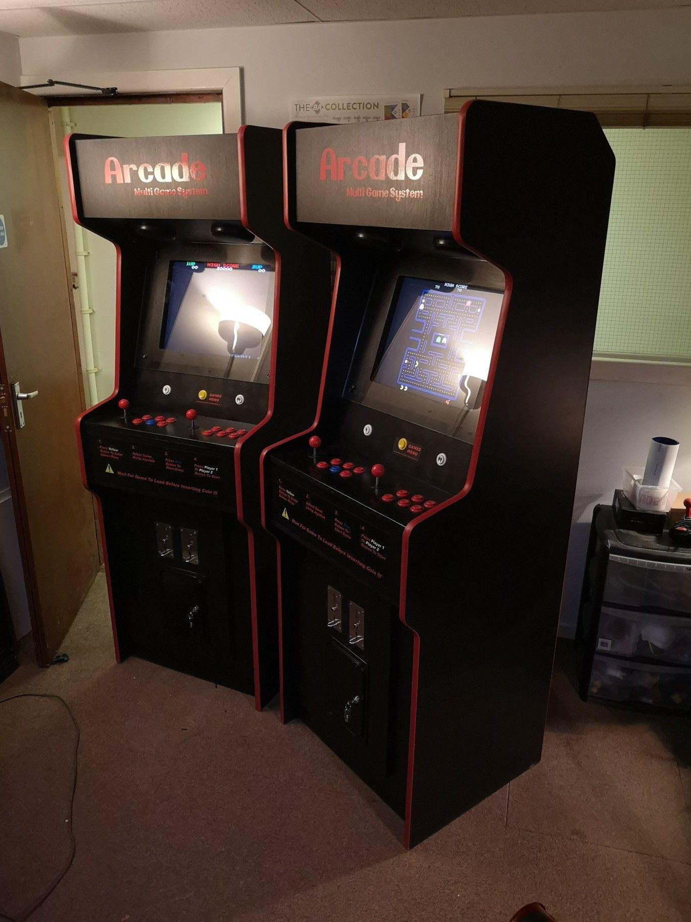 32+ Multi game arcade games mode