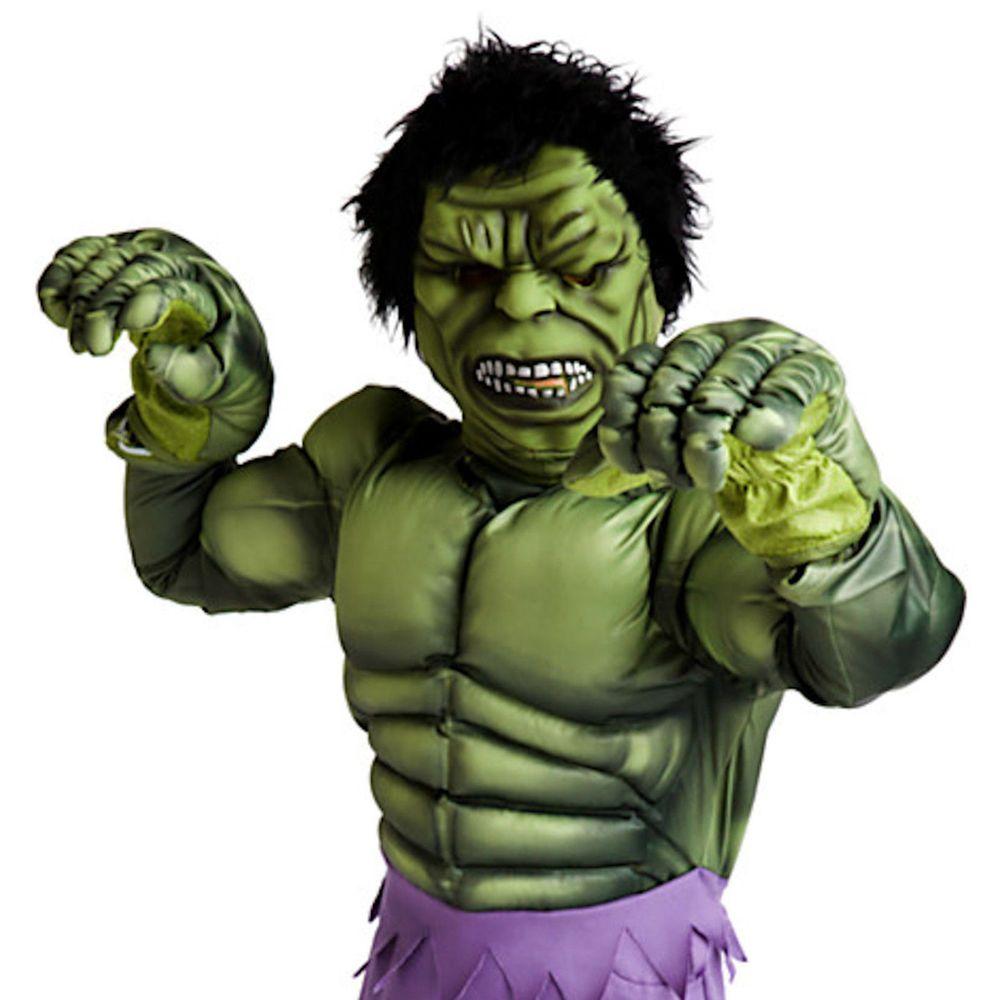 Disney Store Deluxe Halloween The Hulk Super Hero Avengers Costume Boys 5/6 GIFT #DisneyStore #CompleteOutfit  sc 1 st  Pinterest & Disney Store Deluxe Halloween The Hulk Super Hero Avengers Costume ...