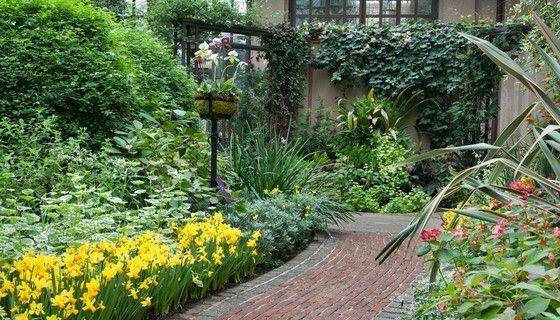 Gardens | Longwood Gardens. Garden Path Stroll down this colorful ...