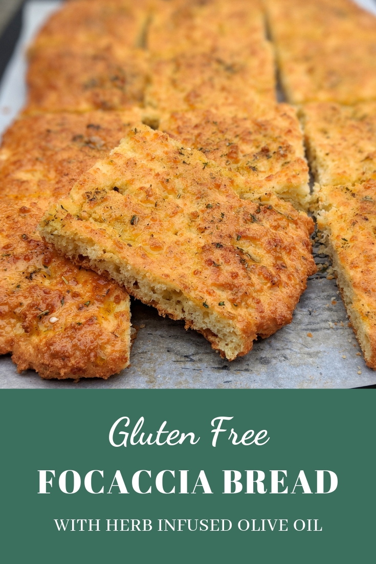 Gluten Free Focaccia Bread With Herb Infused Olive Oil Recipe Gluten Free Focaccia Yeast Free Breads Food Processor Recipes