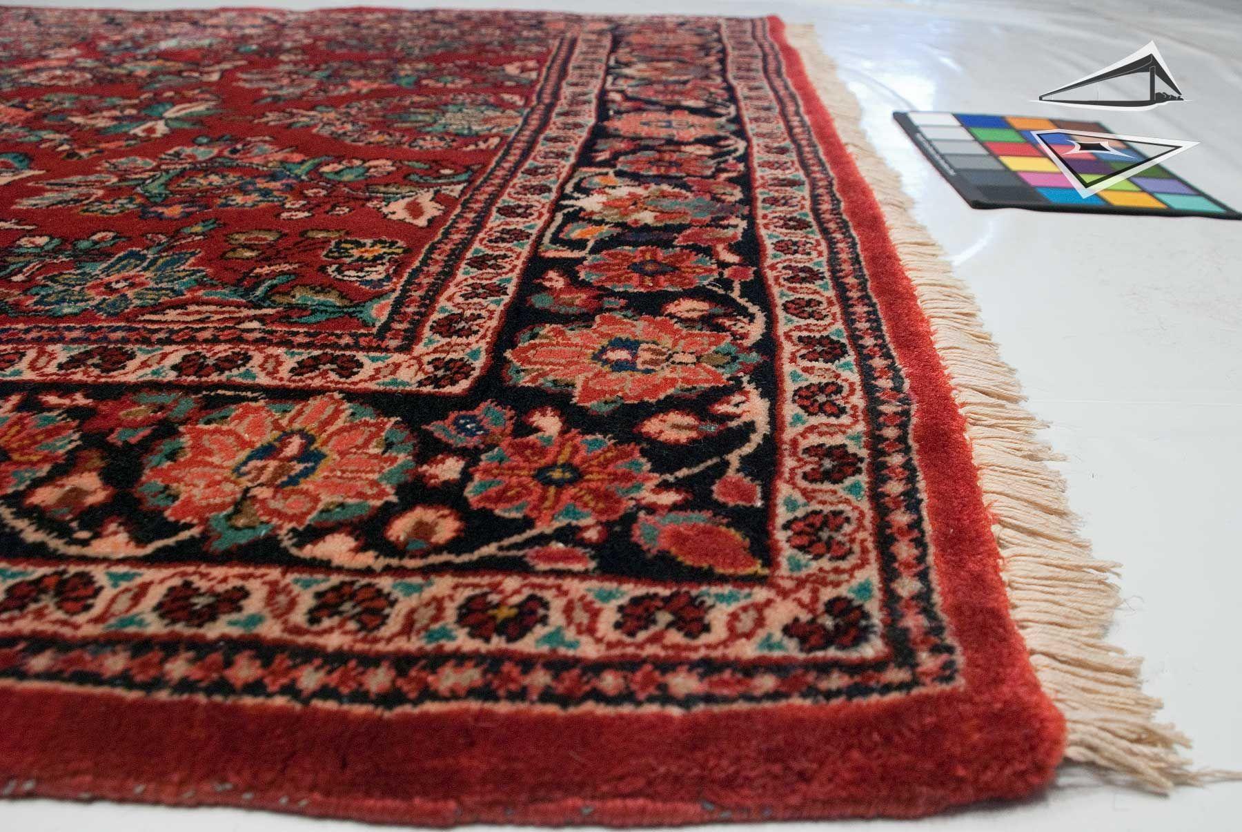 "sarouk rugs | Persian Sarouk Rug Runner 4'9"" x 10'7"""