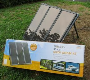 Prepping 101 Solar Generator Basics Harbor Freight Kit Review Solar Power Kits Solar Panels Solar