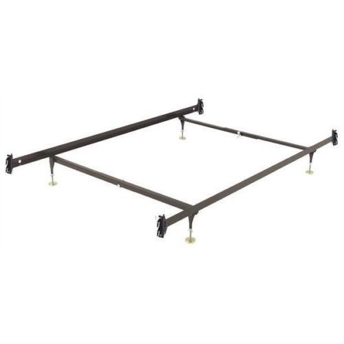 Twin Size Sy Metal Bed Frame With Hook On Headboard Footboard Brackets