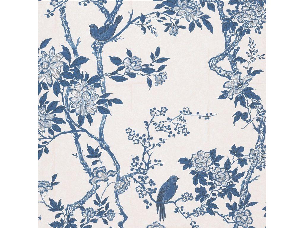 Marlowe Floral Porcelain Blue By Ralph Lauren Ralph 64070