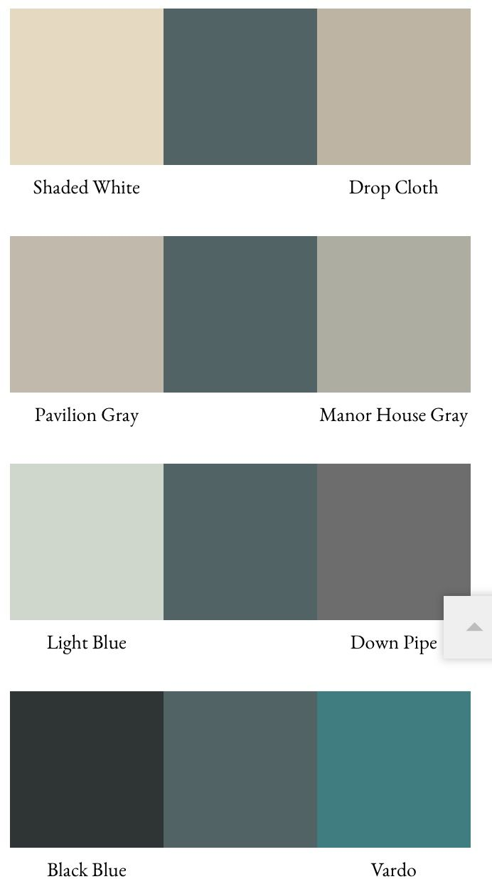 Kleurenwaaier Farrow And Ball Combinaison Couleurs Avec Inchyra Blue Bank Interieur Kleuren
