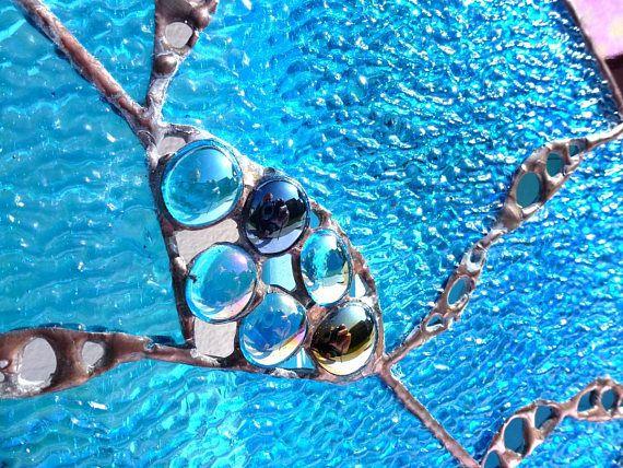 Applique de verre technique Tiffany MinaLéa Tiffany