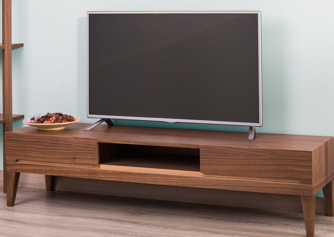 """Ariah Lacquer Modern 63"""" TV Stand"""