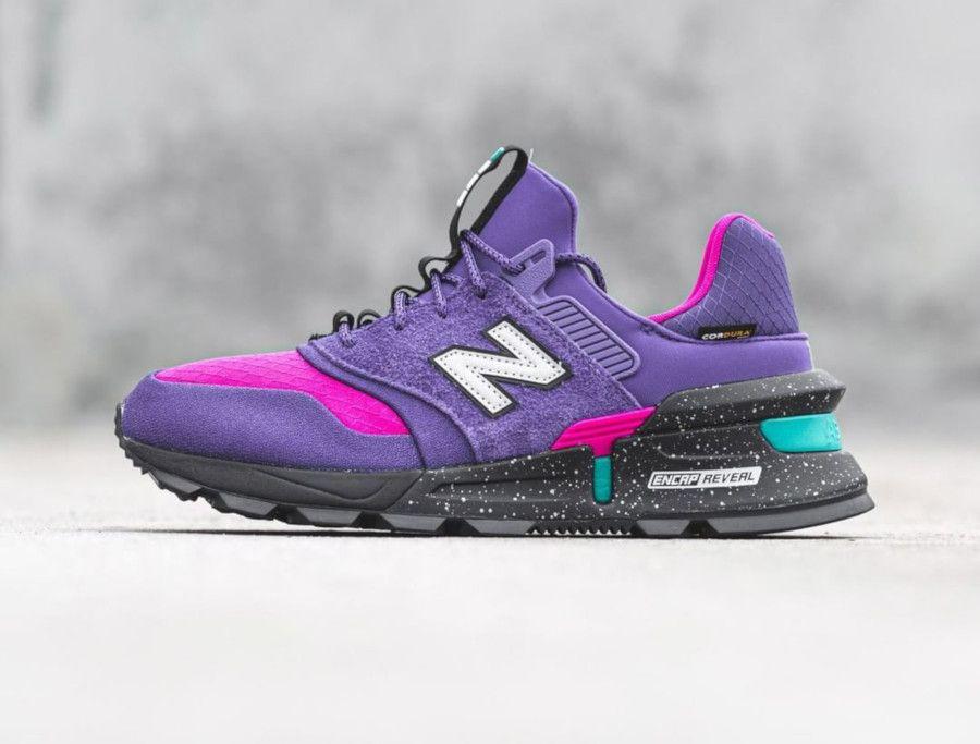New Balance 997 Sport Cordura 'Prism Purple Black Carnival