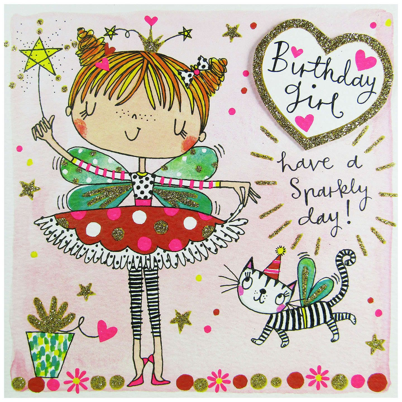 Buyrachel Ellen Birthday Girl Fairy Birthday Card Online At