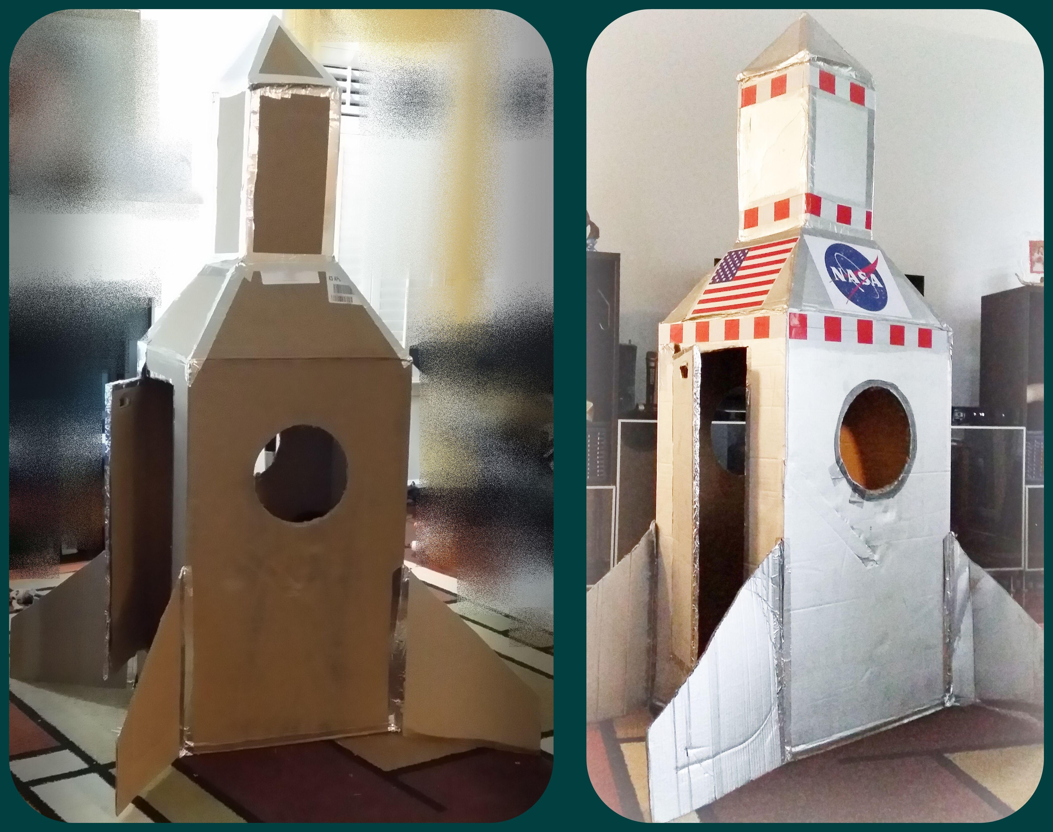 diy rocketships and rocketpacks pinterest