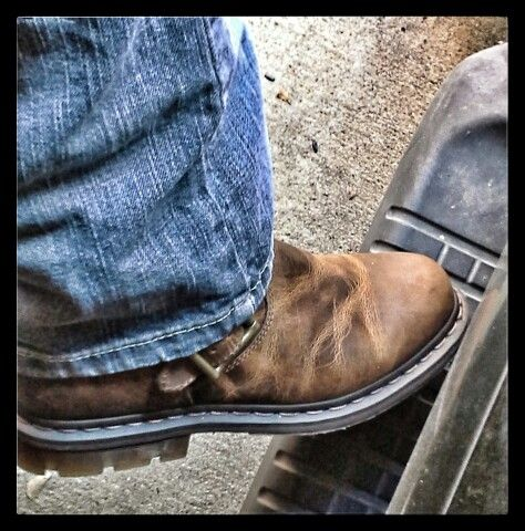Boots of a working man!