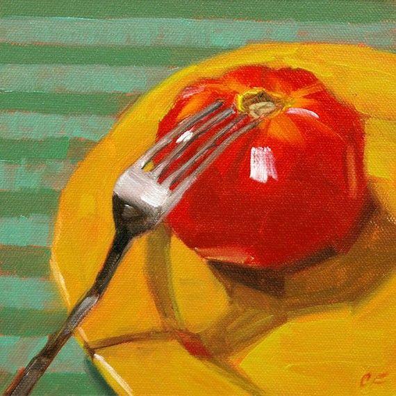 Original oil painting still life kitchen art of by FinnellFineArt, $90.00