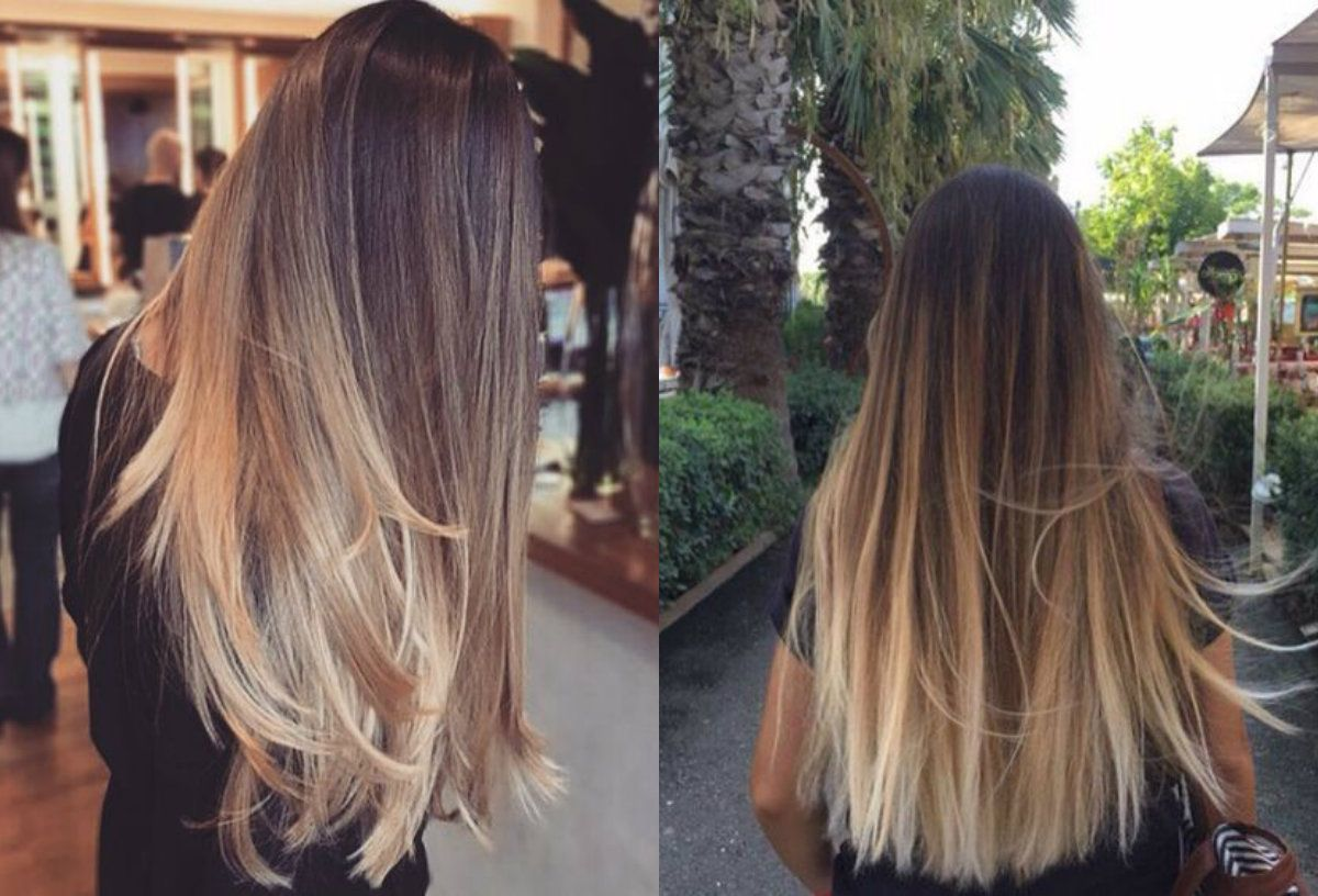 Hypnotizing Long Brown Hair With Highlights   Hairdrome.com ...
