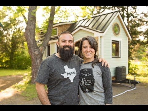 most adorable diy tiny house couple ever youtube heart warming