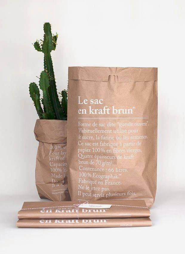Pin By Yu Ping Chuang On Packaging Design Kraft Bag Brown