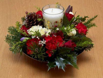 Ideas para tu mesa de año nuevo Centros de mesa navidad, Centros