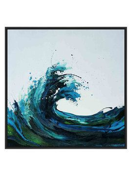 Seafoam Wave (Giclee Canvas) from Curate a Gallery Wall Feat. Curioos on Gilt