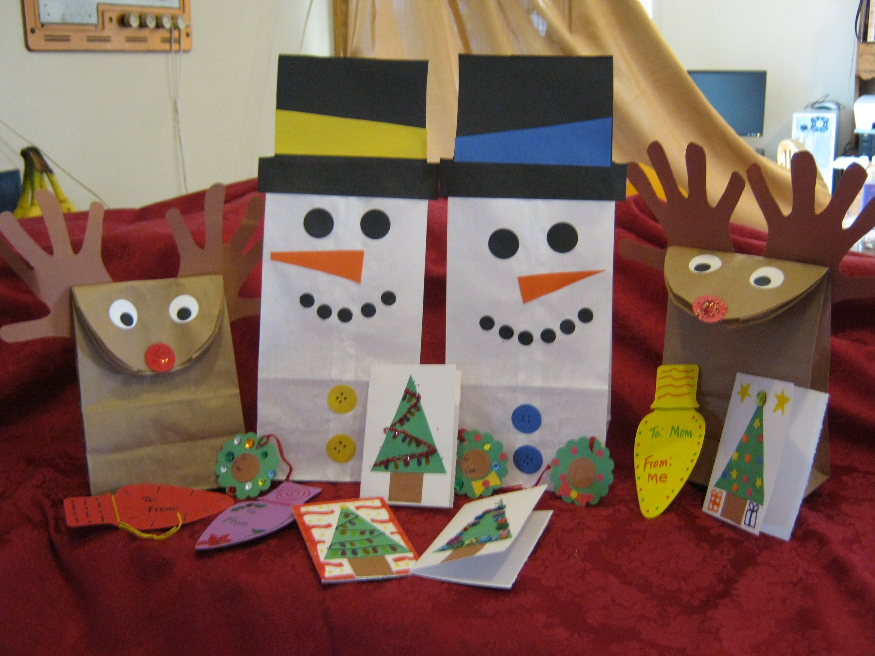 Must make these goody bags for Addy s pre k class for Christmas