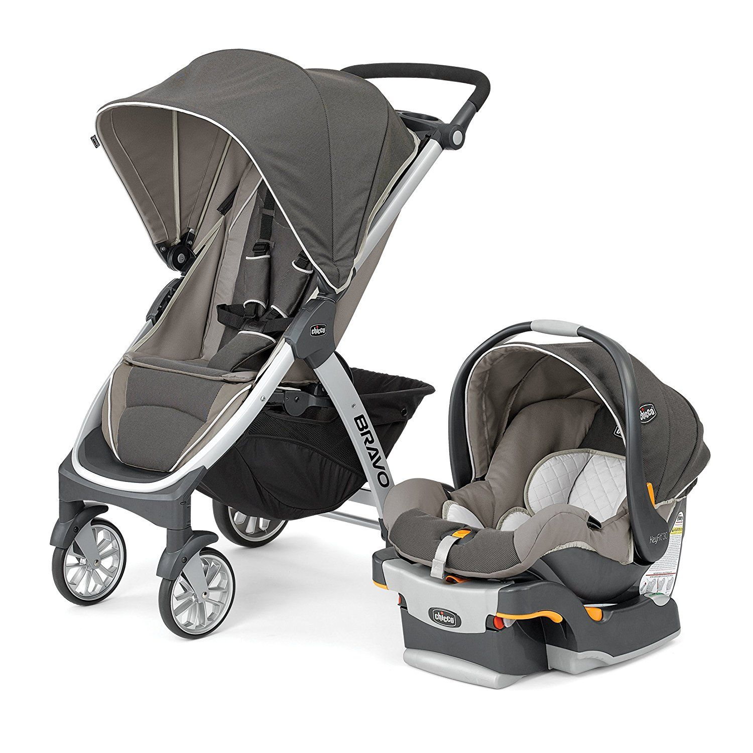 This trio travel system is the latest and most advance of all strollers Key Fit