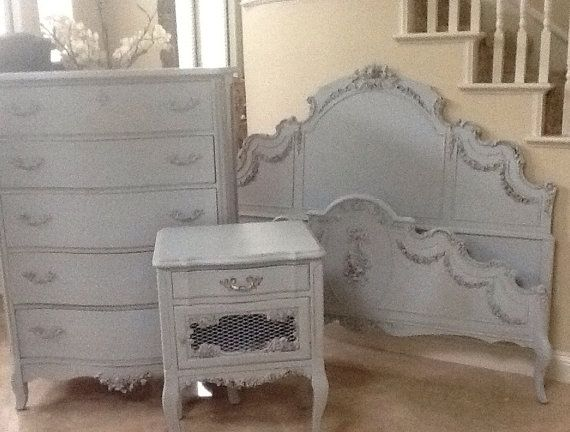 Antique French Provincial Bed Full Size by ...