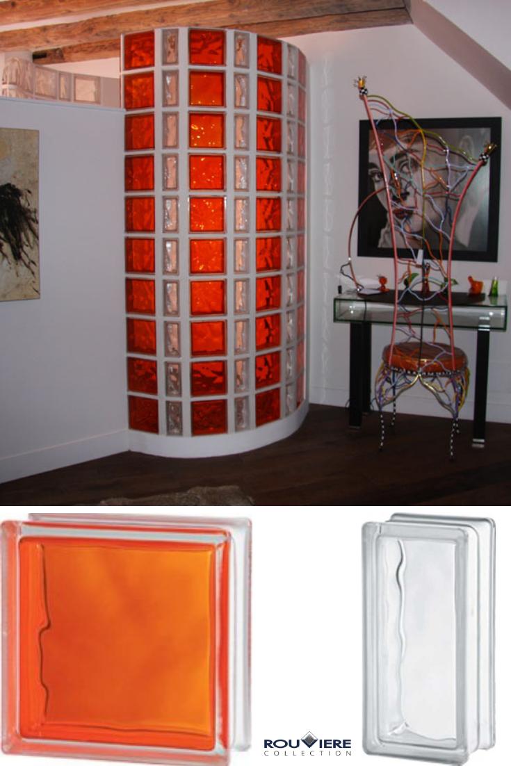 Vos cloisons en briques de verre à petits prix  Brique en verre