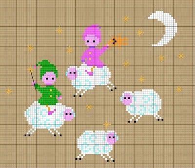La ronde des moutons