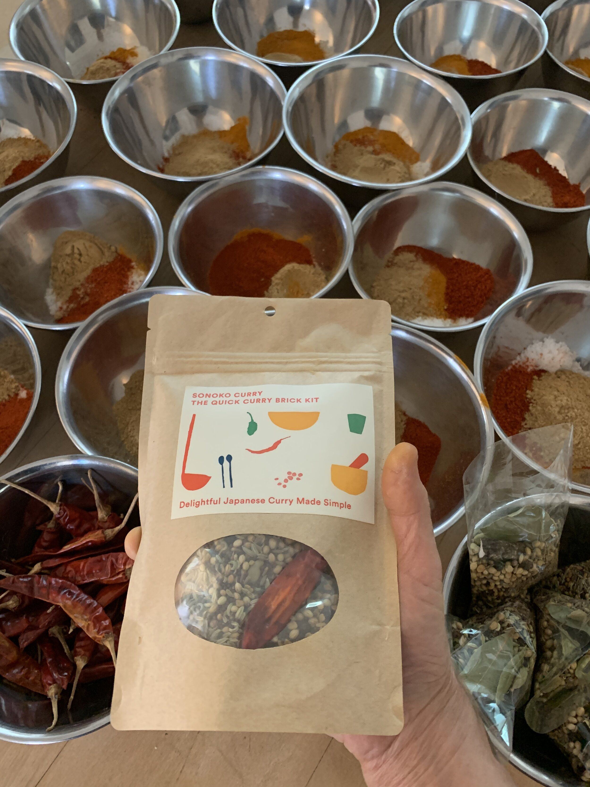 The Curry Brick Kit For Making Japanese Curry Sonoko Sakai In 2020 Japanese Curry Curry Spices Brick Recipe