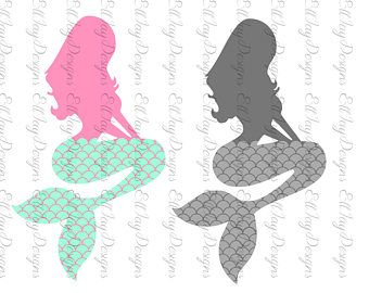 how to draw mermaid tail scales