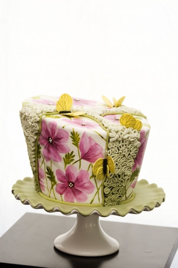 gorgeous garden cake#Repin By:Pinterest++ for iPad#