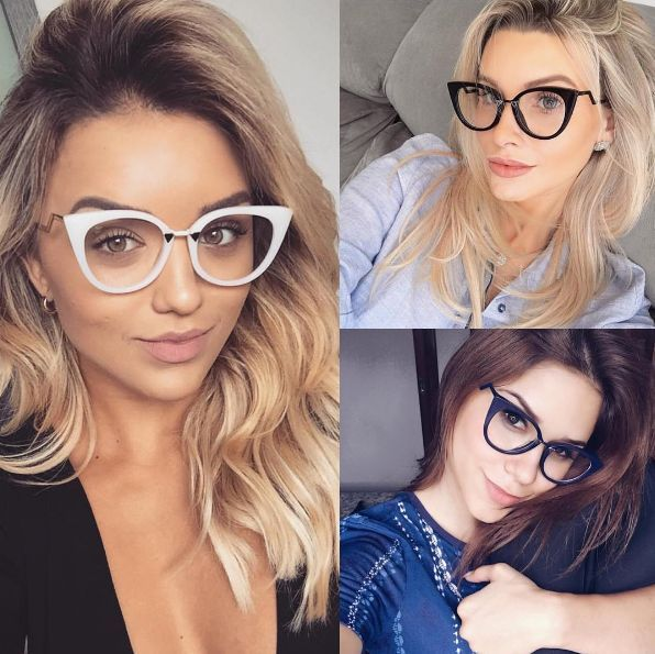 Pin De Mya Almeida Em Acessorios Modelos De Oculos Feminino