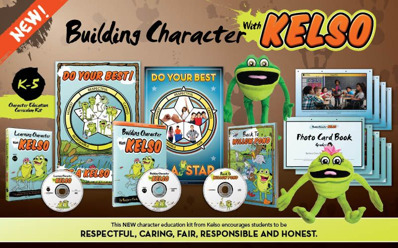 BRAND NEW Kelso Character Ed Curriculum